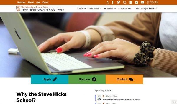 Steve Hicks School of Social Work - UT Austin
